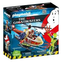 Playmobil Ghostbusters Venkman With Helicopter Building Set 9385 NEW Toys
