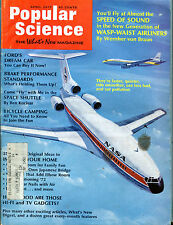 Popular Science Magazine April 1972 Wasp-Waist Airliners Vgex 032116jhe