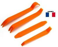 4X outils PLASTIQUE DEMONTAGE VOITURE GARNITURE CLIP TABLEAU DE BORD PORTE
