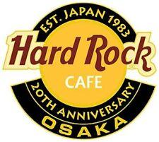 Hard Rock Cafe Osaka 20th Anniversary Japan Logo Series Pin 2003