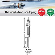 NGK Y-715R / Y715R / 5376 Sheathed Glow Plug Pack of 4 Replaces DPR8EIX-9