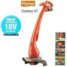 Flymo Contour Cordless XT Cordless Battery Grass Trimmer & Edger, 18 V - 25 cm