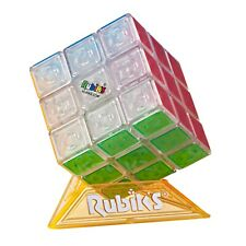 Rubik's Cube Neon Pop 3 x 3 Puzzle for Kids Ages 8+ Toy Play Science Education