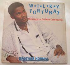 Wilky Fortunat Brother Normal Lie LP Vinyl Shrink Compas Zouk Haiti