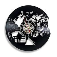 Personalized Vinyl Record Wall Clock Custom Design Clock Wall Clock