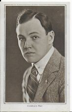 RARE LOVELY VINTAGE GREETINGS POSTCARD,CHARLES RAY,ACTOR