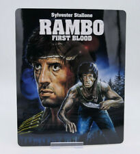 RAMBO first blood 1 - Glossy Bluray Steelbook Magnet Cover (NOT LENTICULAR)
