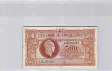 """Trésor 500 Francs """"MARIANNE"""" Type 1945 Série L n° 11L854183 Pick 106"""