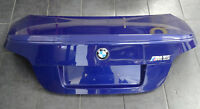 BMW 5er E60 M5 Limousine Heckklappe Kofferraumklappe M Spoiler Interlagos Blau
