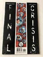 1 FINAL CRISIS 7 1ST CALVIN ELLIS SUPERMAN / DC 2009 / + Bonus Final Crisis Book
