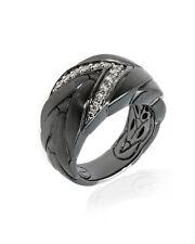 John Hardy Sterling Silver Chain Ring RBP94652BHMBRDDIX7