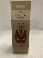 Brisk Tea Tree Beard Oil For Grizzly Beards 1.7 Fl oz