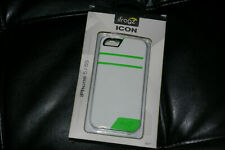 Zagg IFrogz Icon Apple iPhone 5/ 5S Phone Case Neon Green And White NIB