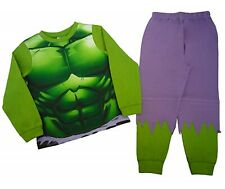Boys Marvel Incredible Hulk Novelty Pyjamas Pjs Ages 2 to 8 Years