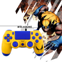 X-Men Wolverine PS4 Slim Pro Controller Shell Case Full Custom Housing Mod Kit