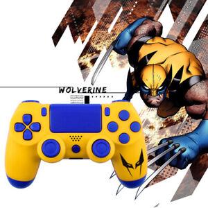 X-Men Wolverine PS4 Slim Pro Controller Shell Case Full Custom Housing Mod Kit