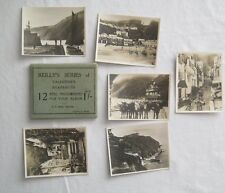 12 Real Photographs For Your Snap Shot Album Clovelly England  Valentines