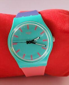 Swatch Multi-coloured Unisex SR1130SW watch – Battery Operated - women 34mm