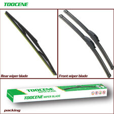 Front and rear Windshield Wiper blades for Toyota RAV4 2005-2012 windscreen