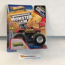 #4  Tropical Thunder * Hot Wheels Monster Jam w/ Crushable Car * K1