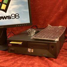 VINTAGE IBM Desktop PC Pentium 4 Windows 98se + XP Dual Boot Retro Gaming P4 98