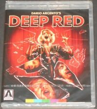DEEP RED THE HATCHET MURDERS usa blu-ray NEW SEALED giallo DARIO ARGENTO
