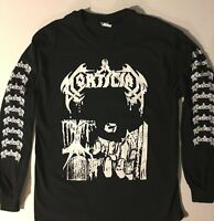 MORTICIAN Long Sleeve T shirt DEATH METAL Immolation Carcass Incantation S- XL