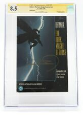 Batman The Dark Knight Returns (1986) #NN TPB CGC 8.5 Yellow Wh Signed by Miller