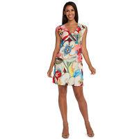 NEW Jams World Sherry Dress Tavern Print Sundress Large Made in USA