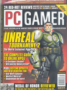 PC Gamer Vol.9 #2 (February 2002) New/Sealed - Contains CD Demo Disc
