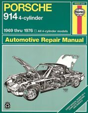 Repair Manual-4 Haynes 80025 fits 1970 Porsche 914