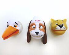 3 Toothbrush Holders Vipo- Flying Dog Children Bathroom Mirror Kids Firstbrush