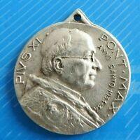 #2354# Vintage Jolie médaille religieuse/ médaille Pendentif/PONT MAX