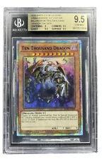 YUGIOH Ten Thousand Dragon BGS Gem Mint 9.5