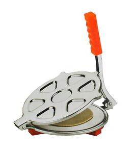 Tortilla Press Chapati Maker Roti Press Stainless Steel Puri Papad Press Maker