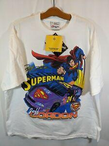 Superman Nascar Jeff Gordon New W Tag Old Stock '99 T Shirt Sz XL