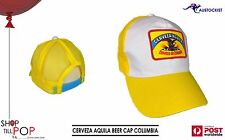 Cerveza Aguila Pale Lager beer Baseball Cap Colombia Colours Adj BNWOT Party