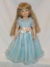 "Tonner 18"" Magic Attic Club Doll Alison In Long Blue Gown 1995"