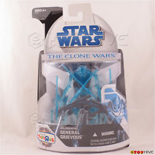 Star Wars - The Clone Wars 2008 Holographic General Grievous TRU exclusive -dent