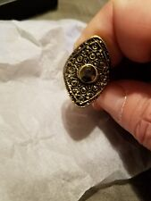 Avon Signature Collection INFINITE STARS Ring, Sturdy, Antique look, Sz 6 NEW