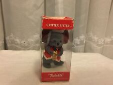 "Union Wadding ""Twinkle"" Christmas Ornament Critter Sitter  box"