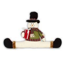 Mignon Assis Bonhomme de neige avec cadeau de Noël Tirant Chasse-Décoration 56 cm XM2466