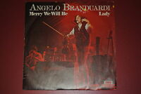 "ANGELO BRANDUARDI MERRY WE WILL BE / LADY 7"" 45 GIRI"
