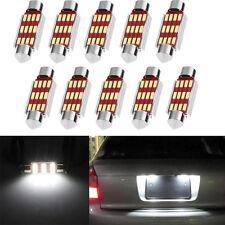 10 X 39mm 4014 12SMD C5W LED Canbus Festoon Dôme Lampe de plaque de voiture