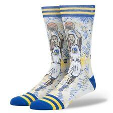 Stance Socks Nba Fusion Basketball Gsw Warriors Klay Thompson Size Large 9-12