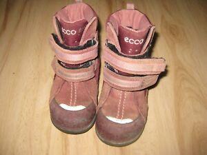 Süβe  Winterschuhe Stiefel Gr.23 ECCO in gutem Zustand