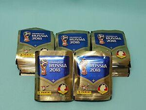 Panini WM 2018 Russia World Cup Sticker 200 Tüten / 1000 Sticker