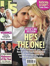 Us Weekly Magazine Reese Witherspoon Jake Gyllenhaal Natasha Bedingfield Wedding