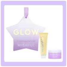 Huda beauty GLOW Set Wishful Yo Glow Enzyme Scrub 20ml And Honey Balm 10g❤️❤️
