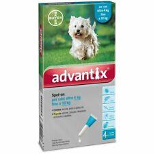 Advantix Antiparassitario Spot-on per Cani 4-10 kg 4 Pipette